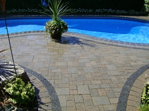 landscaping interlocking stone durham region ontario