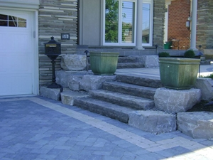 landscaping interlocking stone york ontario