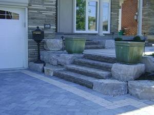 landscaping interlocking stone york ontario