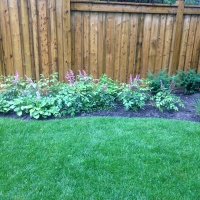 Fence and Flower Bed