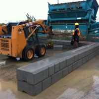 Heavy Duty Retaining Wall