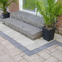 Natural Stone Steps - Interlock