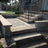 Natural Stone Steps