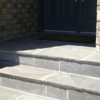 Natural stone tile.