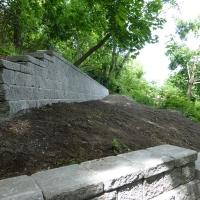 Scarborough Bluffs retaining walls